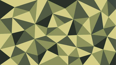 camou soldier polygon pattern, vector background Illustration