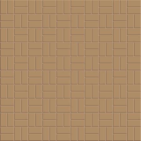 Klei steen vloer patroon, bestrating ontwerp, vector