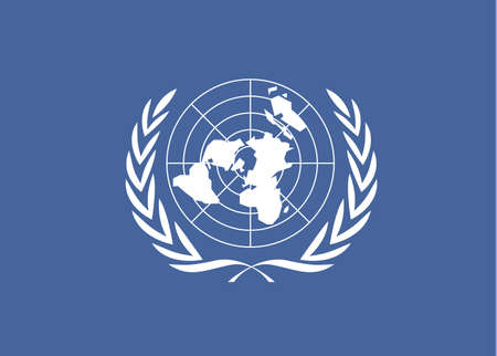 United Nations flag for 10-24 United Nations Day