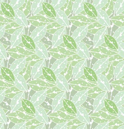 green leaves seamless pattern backdrop for art design decoration, elemental, tropical illustration background