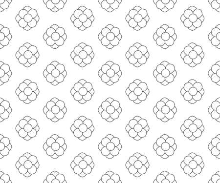 line floral pattern seamless, floral vector backdrop
