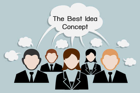 The best idea with many business man and woman have opinion together, comments same