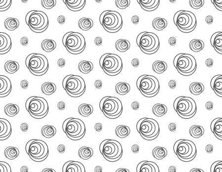 line rose floral pattern seamless, vector illustration backdrop Reklamní fotografie - 128702139