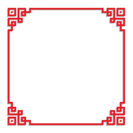 chinese border frame 26