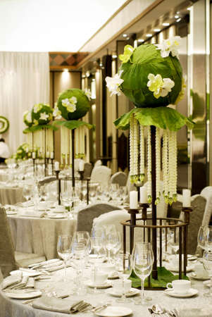 banquet decorate Stock Photo - 7984833