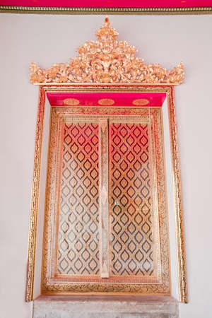 Design of Temple Windows, Stock Photo