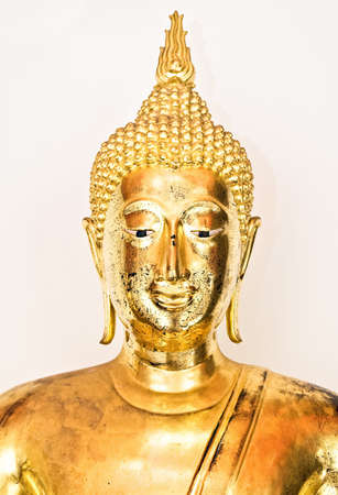 Buddha on White background,