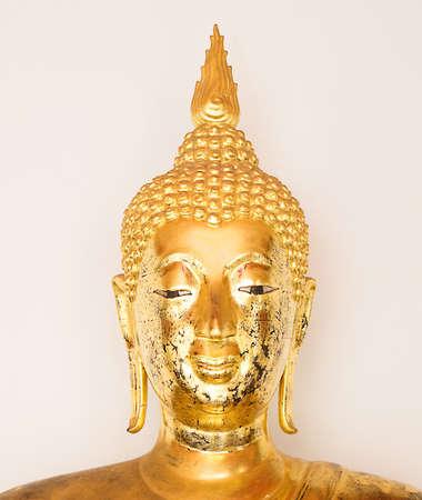 The Head of Buddha at Wat Pho,