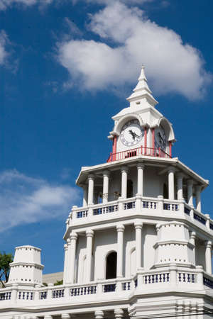 The Clock Tower in Thailand, Stock Photo