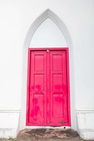 The Red Door of  the Sacred Library,