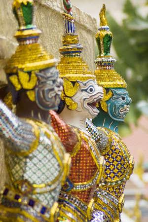 Guardian at Thai Grand Palace,