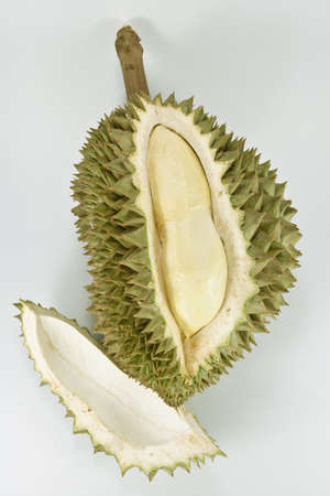 exotic fruits: Durian Stock Photo