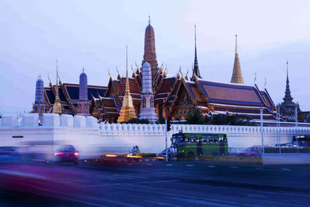 The royal temple of Bangkok photo