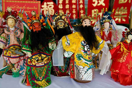 Doll of Beijing opera Stock Photo