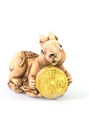 Rabbit Chinese zodiac animal  Stock Photo
