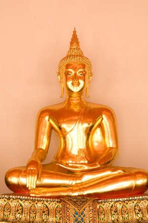 Buddha image at Wat Pho , Thailand  photo