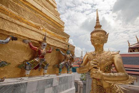 Garuda Temple of Emerald Buddha Bangkok Thailand
