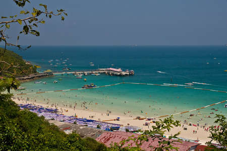 Beauiful Beach In Thailand Stock Photo