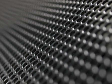 Metal net circle texture background Stock Photo