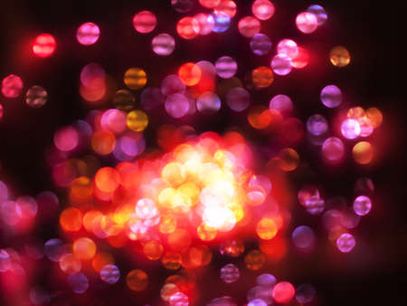 colorful circular bokeh abstract background of light