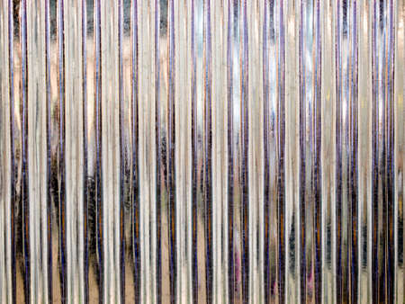 Corrugated steel abstract background