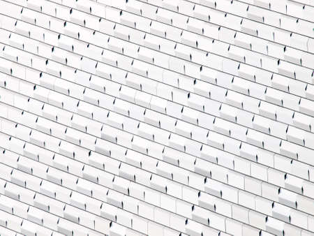 White abstract modern wall with shiny cubes