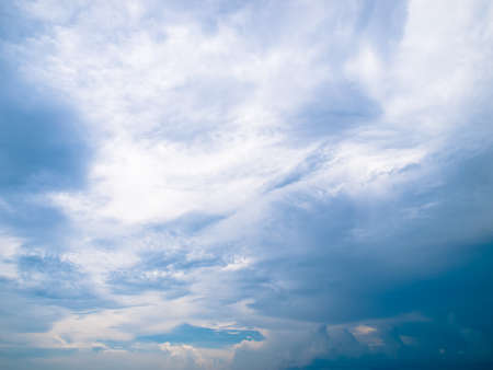 clound: cloud in the blue sky abstract background