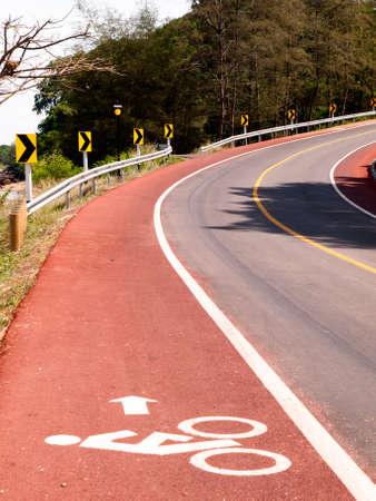 fietspad parallel hoofdweg