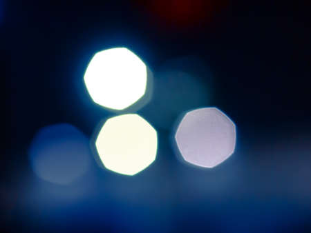 bokeh abstract background of light