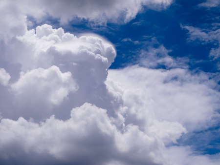 cloud in blue sky background Stock Photo