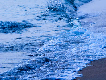 Abstract wave ocean nature background
