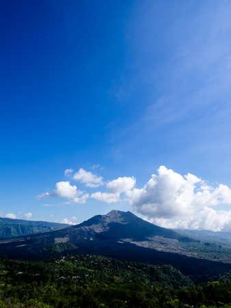 Batur volcano at morning, Bali
