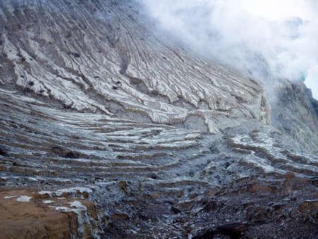 kawah ijen volcano nature background Stock Photo