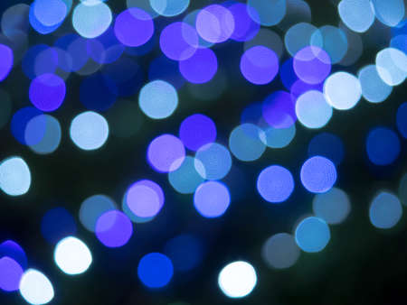 blue bokeh abstract texture background Stock Photo