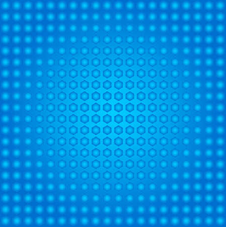 patten: hexagon patten textured background Blue Color Stock Photo