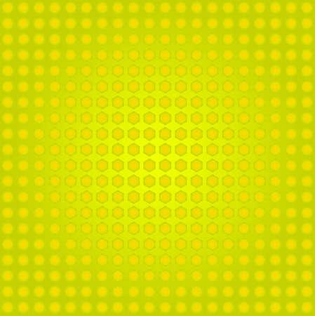 patten: hexagon patten textured background Yellow Color