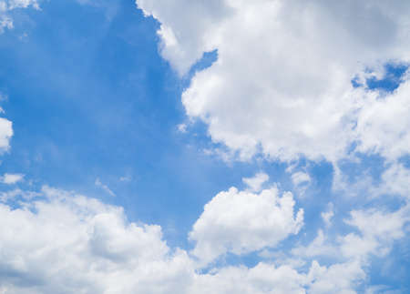 cloudscape and blue sky Stock Photo