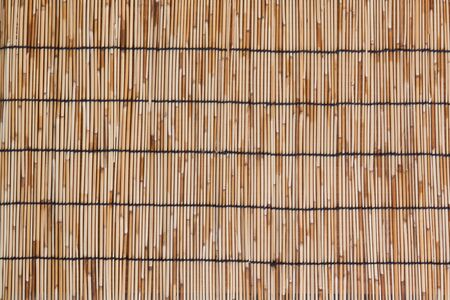chinese bamboo: Bamboo mat as background