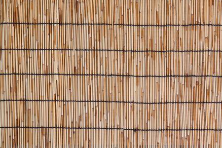 bamboo stick: Bamboo mat as background