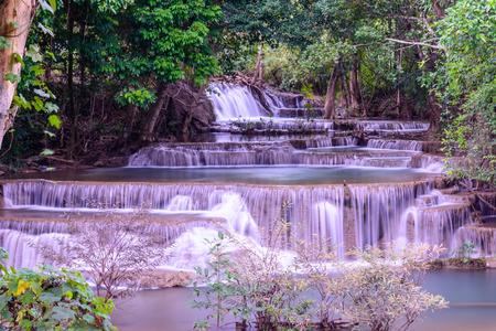 Huay Mae Kamin Waterfall ,Srinakarin National park , Kanchanaburi, Thailand
