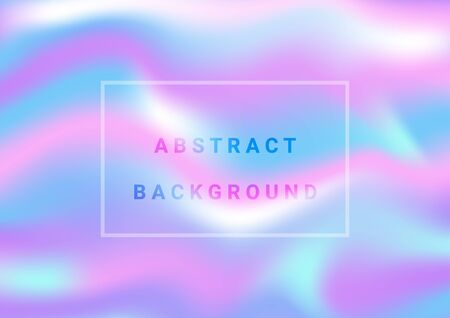 Abstract light colorful party holographic foil background. Иллюстрация