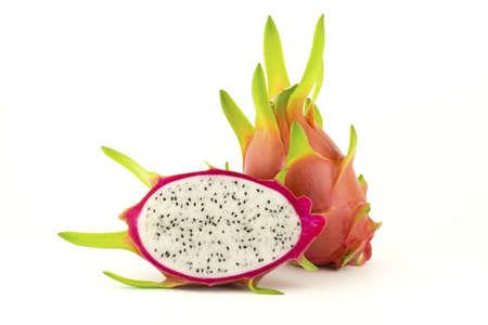 Dragon fruit isolated on a white background Stock Photo