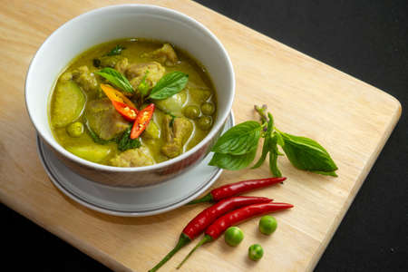 Thai Spicy green curry