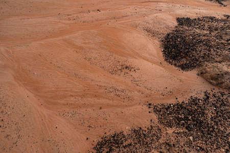 Sand and rocks Stock Photo