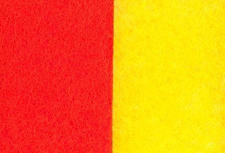two tone: Two tone sponge texture background  ( Orange and Yellow).