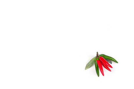 Chili pepper isolated on a white background Imagens
