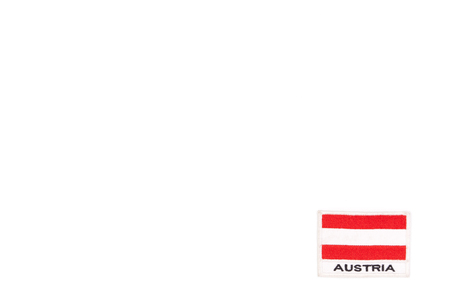 Flag of Austria isolated
