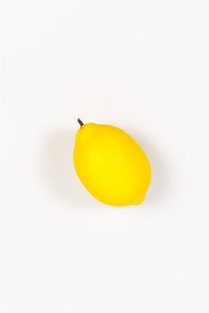 Lemon isolated on white background Imagens