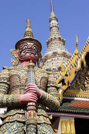 dazzlingly: Wat Phra Kaeo, Grand Palace, Thailand  Stock Photo