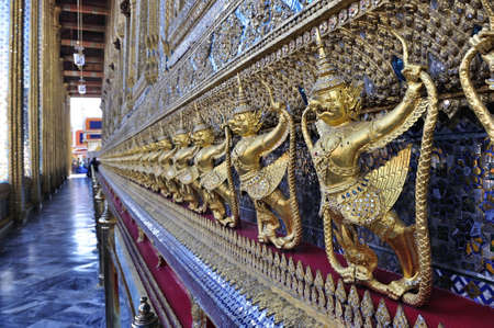 dazzlingly: Garuda, Wat Phra Kaeo, Grand Palace, Thailand